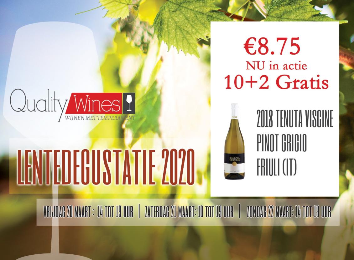 2018 Tenuta VISCINE Pinot Grigio – Friuli